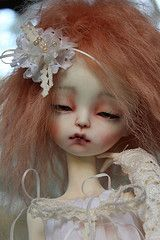 Isol (Camille_Jade) Tags: white ball doll skin ooak bjd chateau msd jointed modigli imda