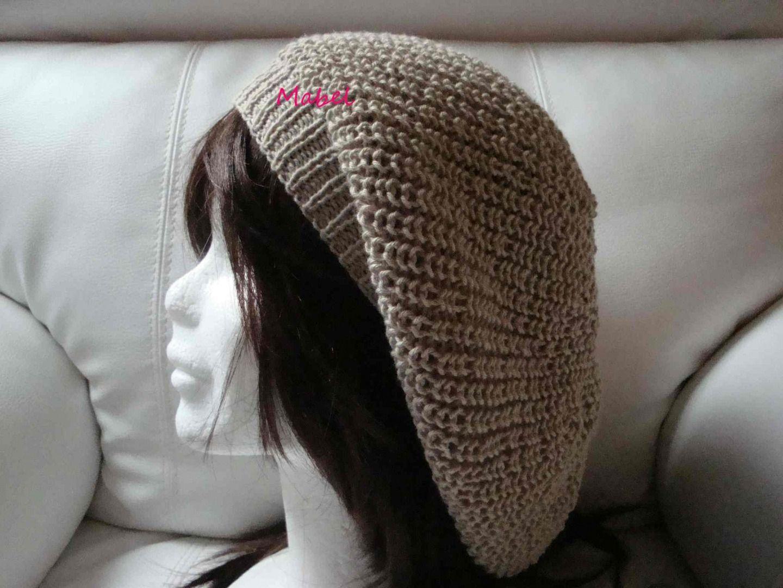 modele tricot bonnet rasta femme