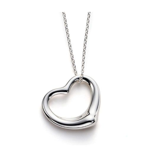 Tiffany elsa peretti open heart necklace tiffany cocklaces tiffany elsa peretti open heart necklace aloadofball Images