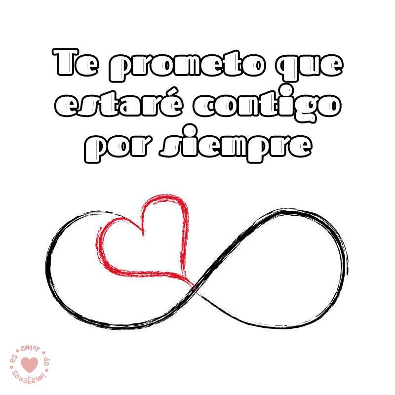 Bonito Dibujo De Infinito Con Frase De Amor Mi Mor
