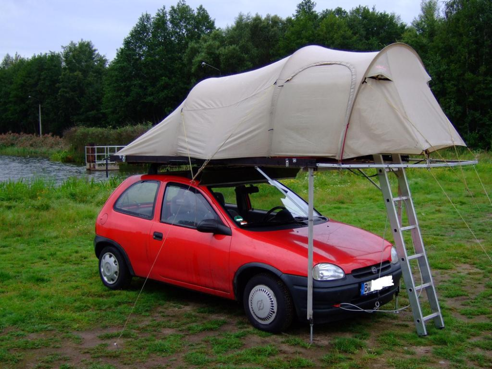 Offroadtb Com View Topic Roof Tent Self Built On The Car Roof Tents So It Goes In 2020 Roof Tent Diy Roof Top Tent Car Tent