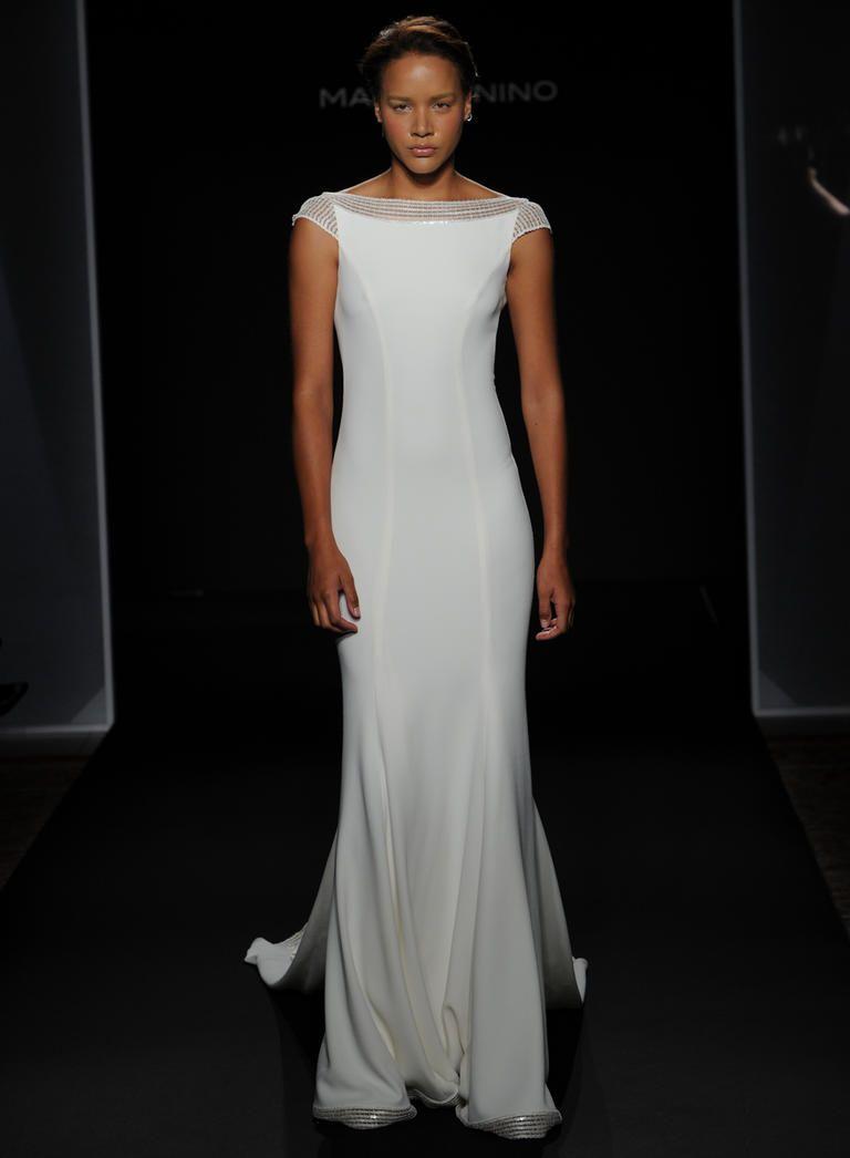 See Mark Zunino\'s Dramatic Wedding Dresses for Fall 2016 | Mark ...