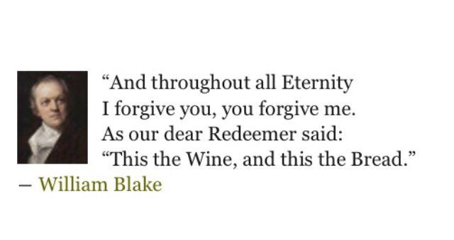 William Blake - For PJB