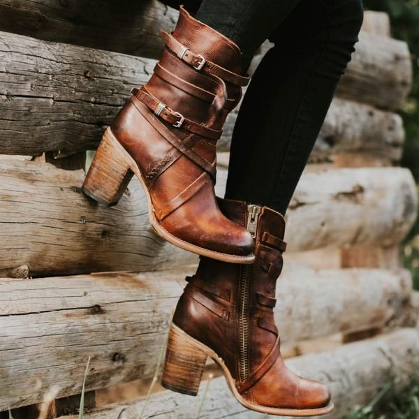Baker   Leather boots women, Boots