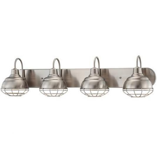 Photo of Industrial Cage 4 Light Vanity Light $ 189 shadesoflight.com #bathroomfixtures #i …