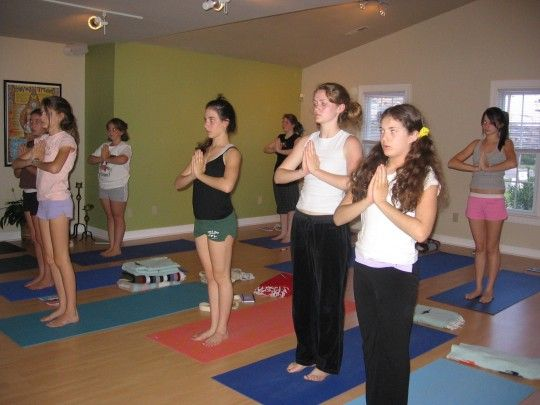 Yoga Class Session I Yoga For Kids Kids Events Event