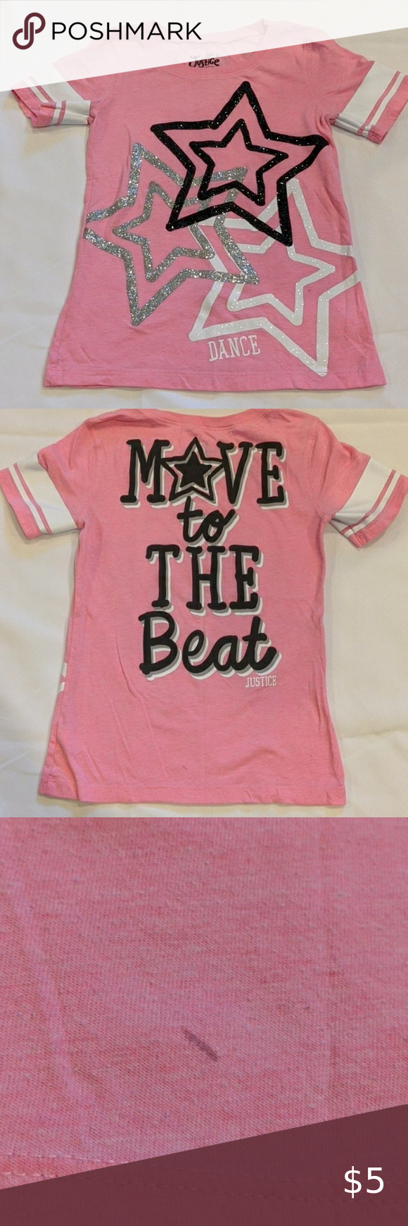 Girls Size 8 Justice T Shirt Size Girls Love T Shirt Clothes Design