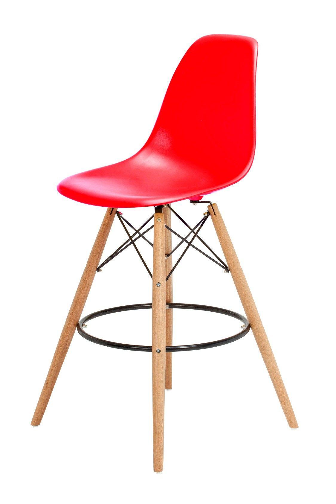Replica Charles Eames style Bar Stool This replica