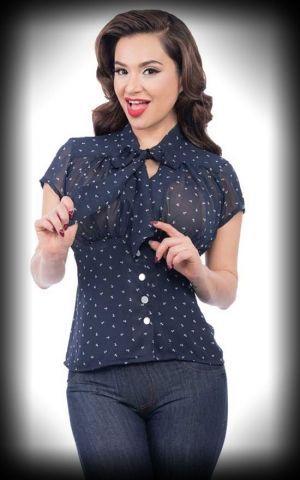 Steady Ladies Chiffon Bluse Bon Voyage | Mädels, Girls und Shirts