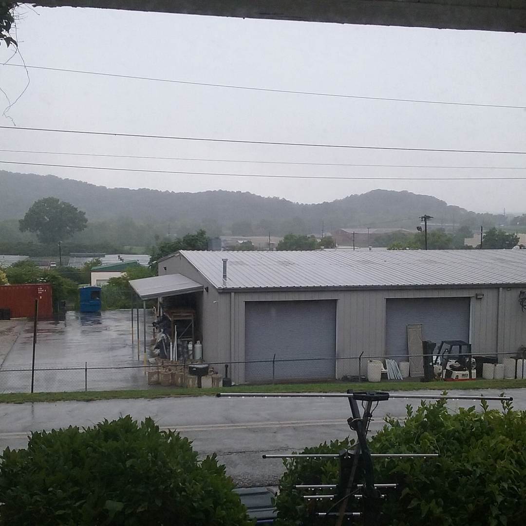 Good ole Summertime rain in Anniston. #alwx