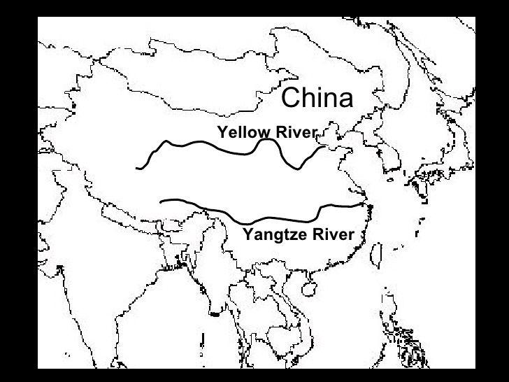 labeled map of ancient china China Yellow River Yangtze River Ancient China Map China Map labeled map of ancient china