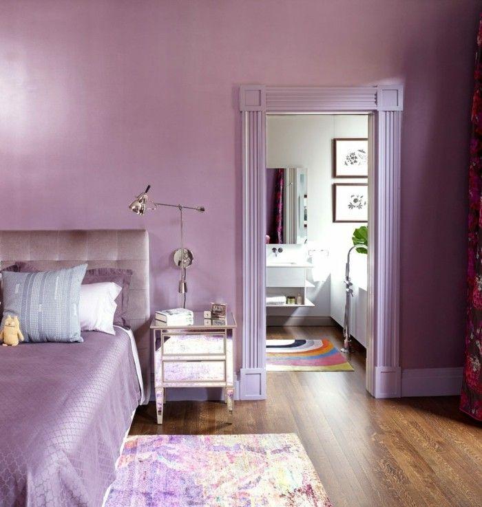 Die Farbe Lila in der modernen Einrichtung 59 Beispiele