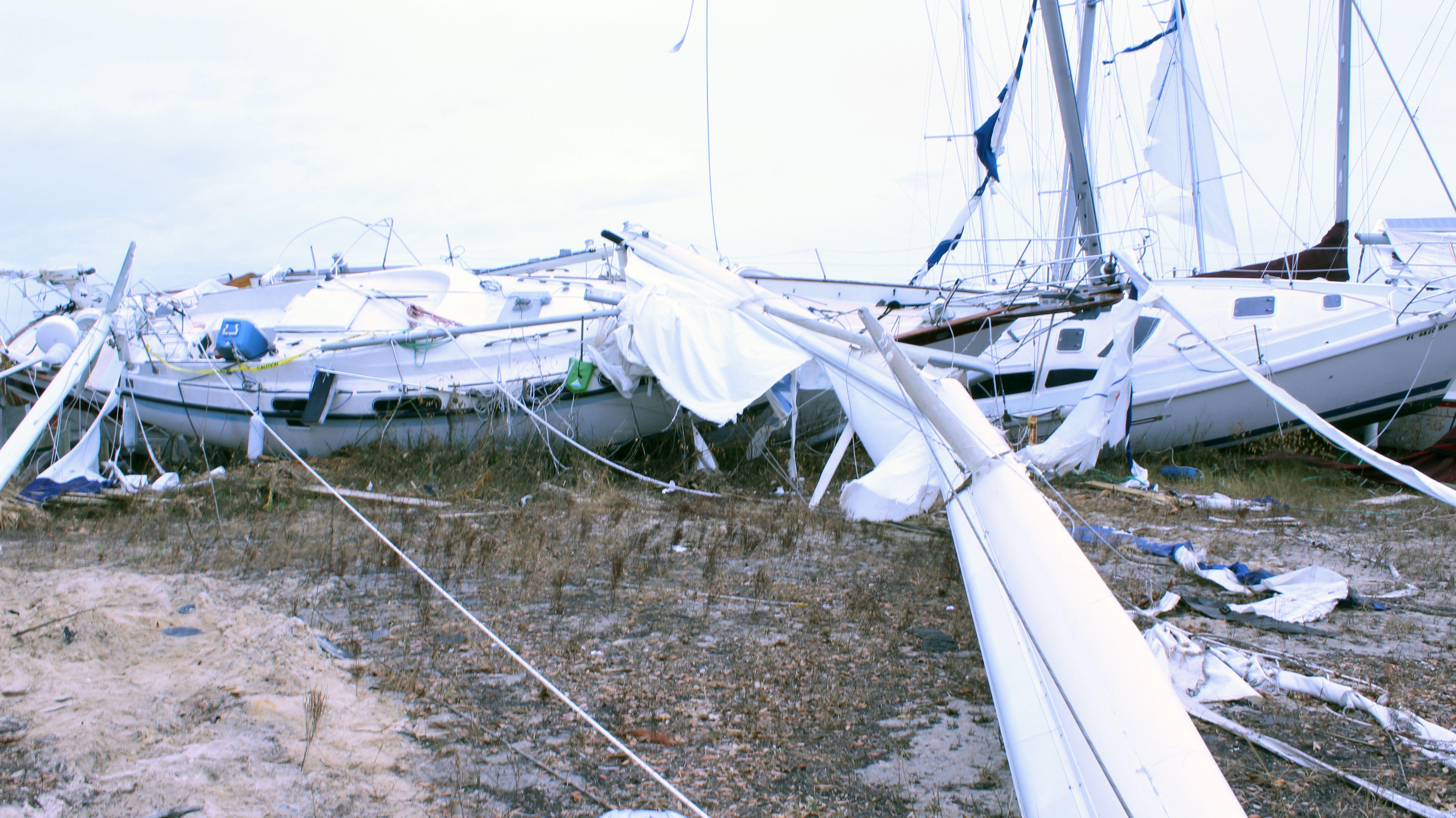 Hurricane michael water damage repair devastation