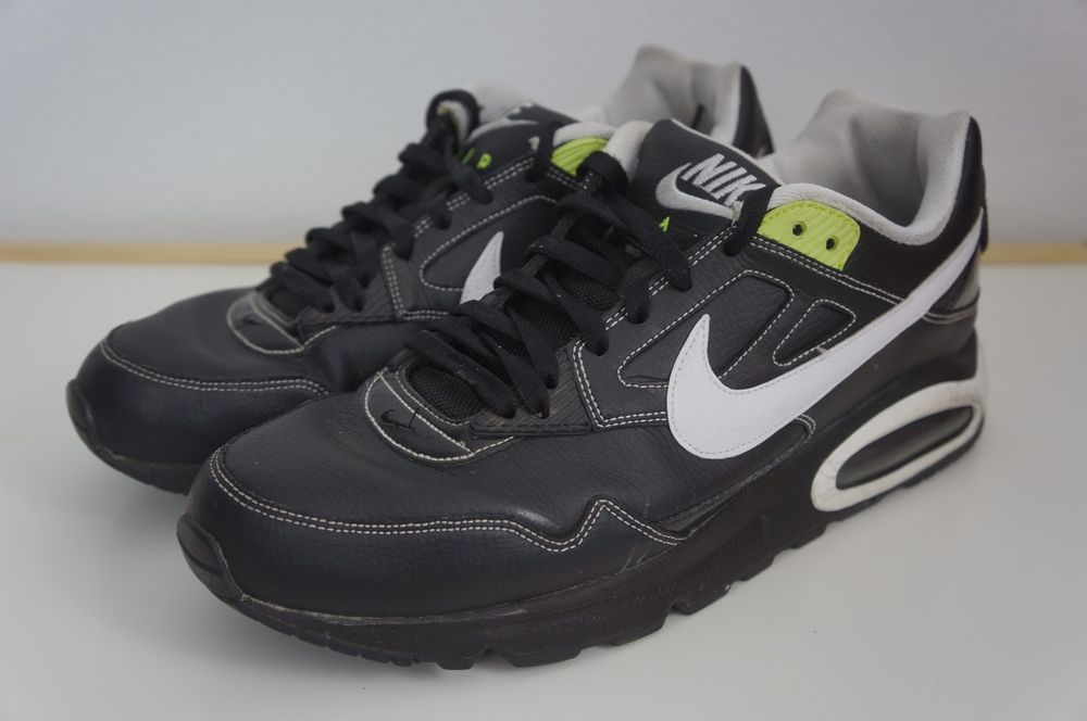 Nike Air Max Skyline Black Neon Green Men's Sneakers Shoes