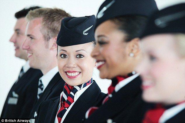 Cabin Crews around the world - British airways! MY OLD AIRLINE DAYS