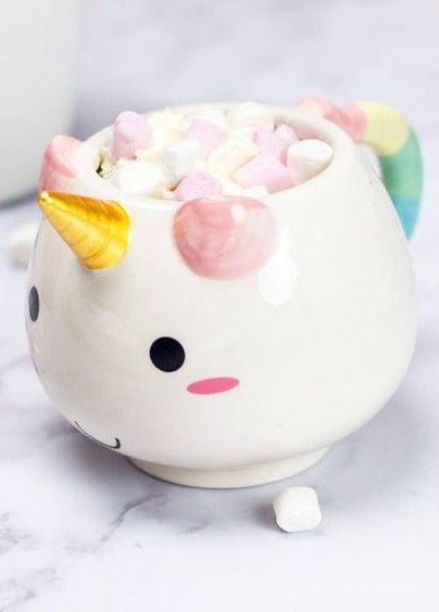 Cute Ceramic Unicorn Mug The UnicornPiggy BankCoffee