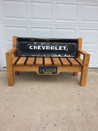 Dale S Tailgate Bench Jameskowens Tailgate Bench Chevy Tailgate Bench Truck Tailgate