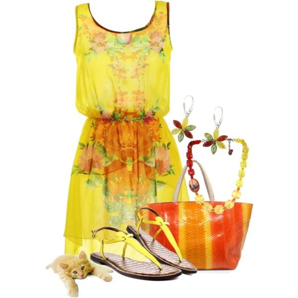 Summer Brights, created by katc on Polyvore