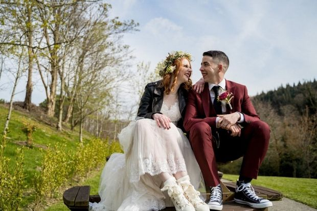 Photo of A Non-Traditional Wedding Filled with Personal Touches | weddingsonline