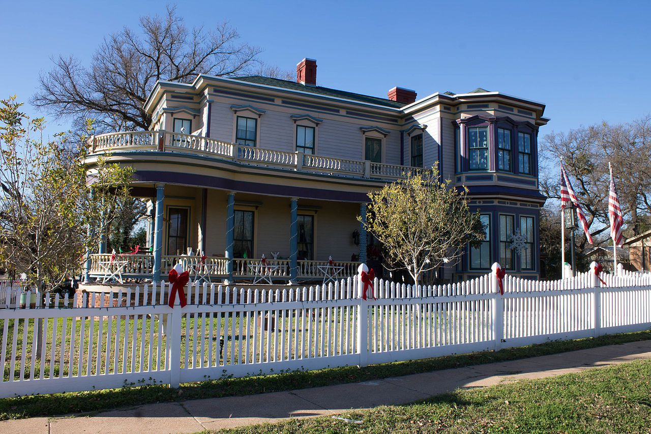 F. K. and Mary Austin House in Bell County, Texas.