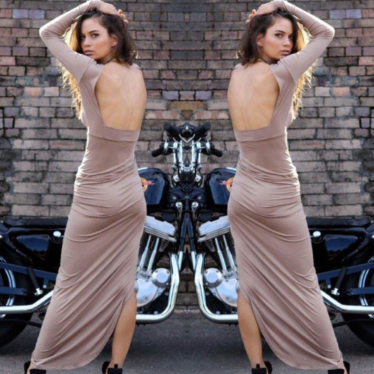 Nude Found Love Dress by lioness official. Nude or Black. Shop online at www.willowandkate.com.au