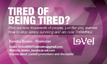 Join Me And See What Thrive Can Do For You
