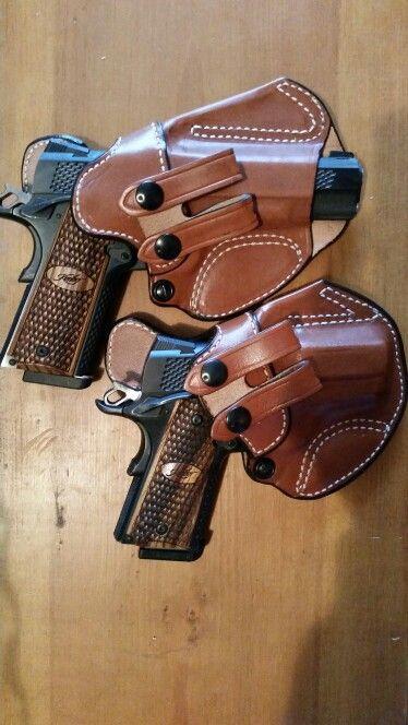 Kimber Raptor Pro, Kimber Raptor Ultra  | leather holster | 1911