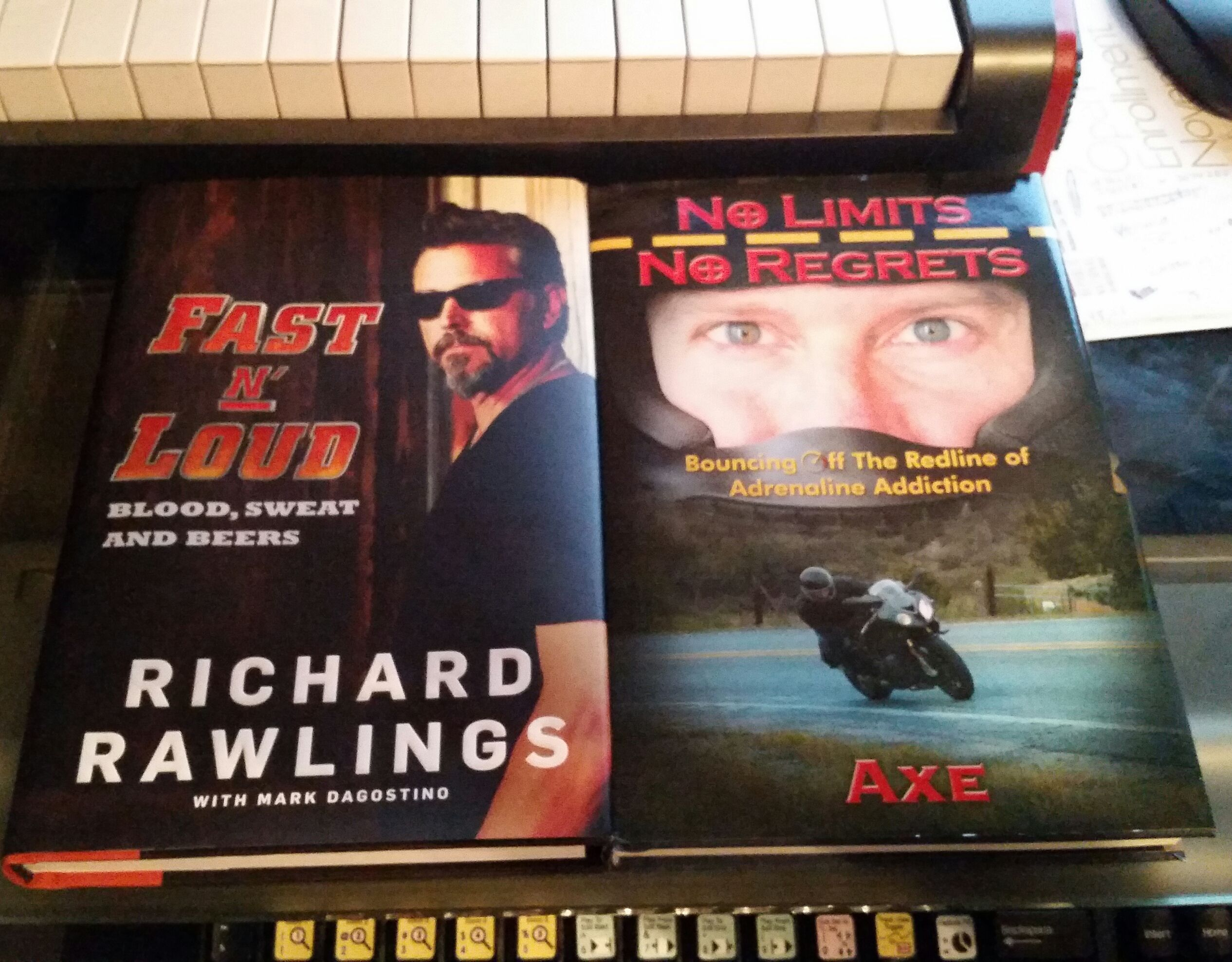 Bought Richardrawlings Book Fastnloud Looks Nice Next To Book