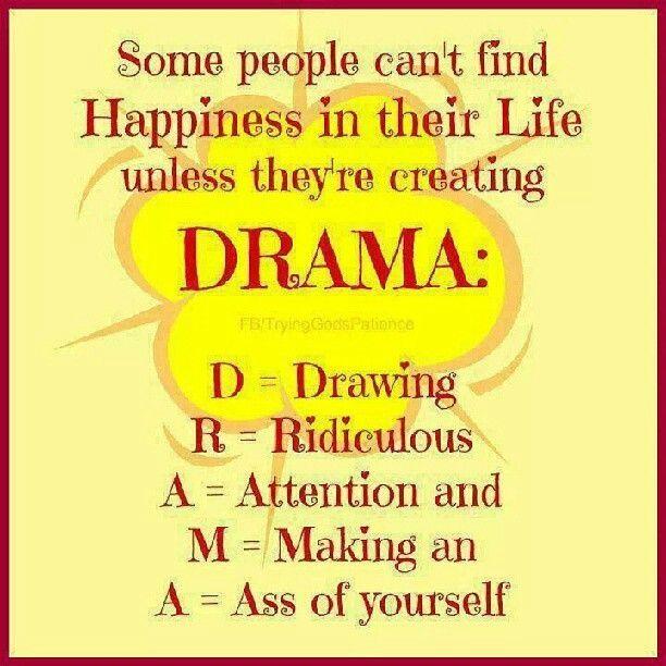 no drama | Drama queen quotes, Drama quotes, Queen quotes
