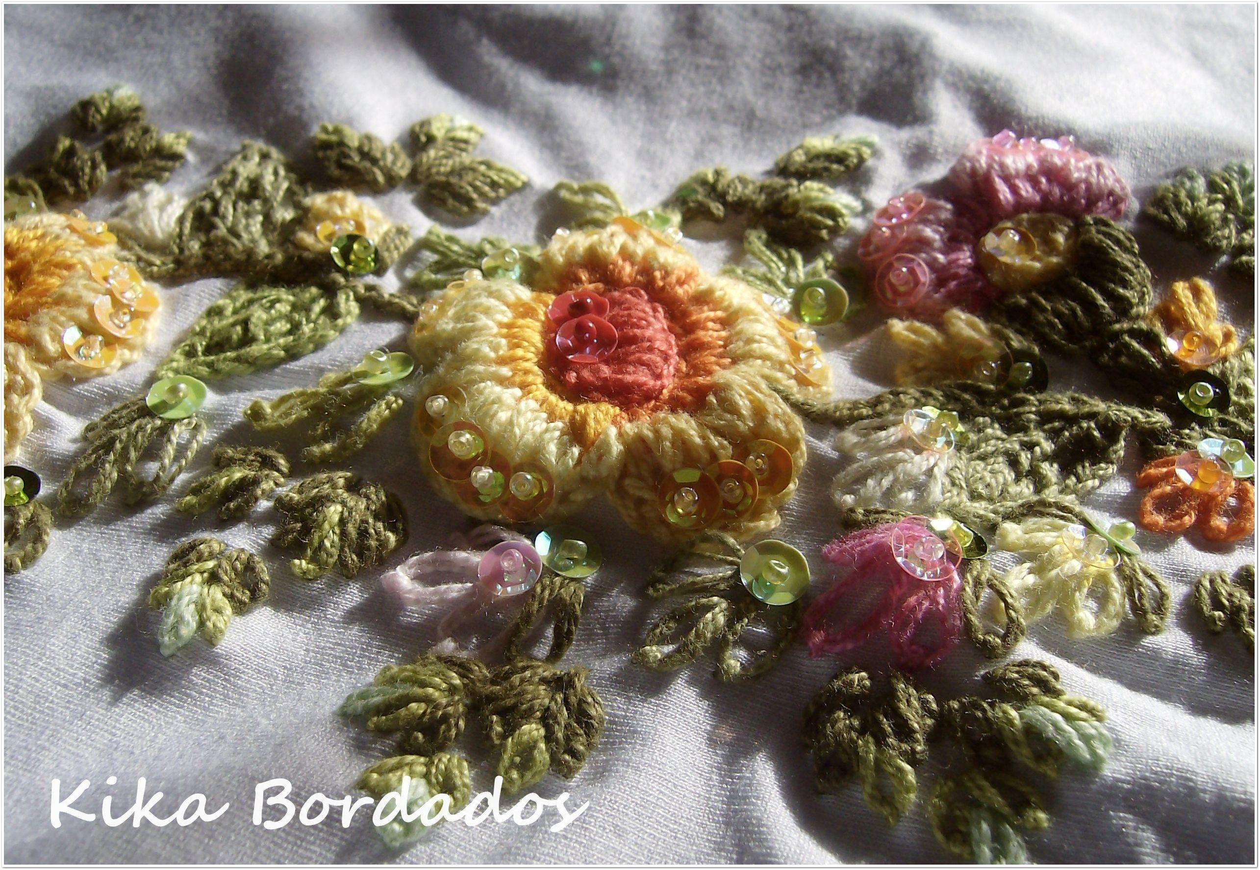 Bordados feito a mão/ embroidery/ handmade