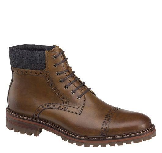 Karnes Cap Toe Boot - Johnston & Murphy