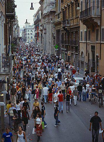 Via del corso roma lazio italia europa roma italia for Corso arredatore d interni roma