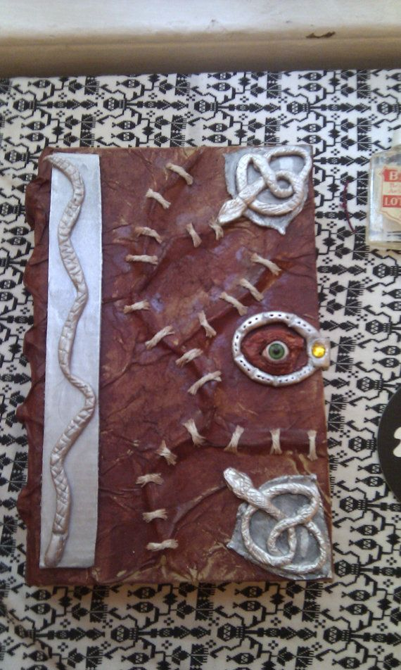 how to make a spellbook prop