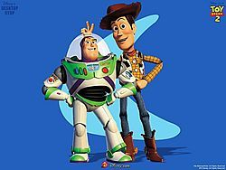 Buzz and Woody, two of my favorite people.
