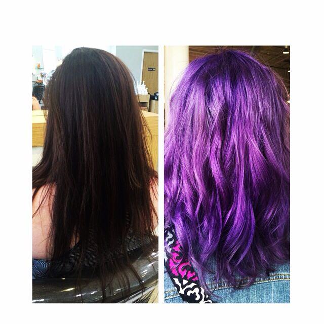 Beautiful Purple Using Matrix Color Graphics By Jeff Andreashogue