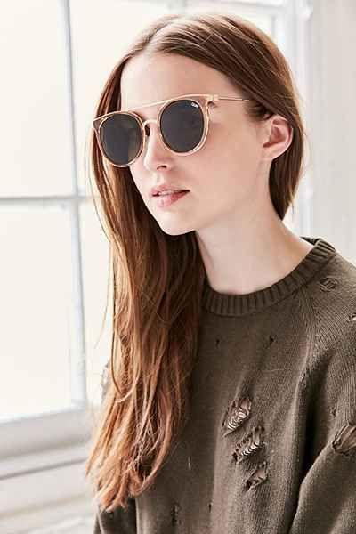 Quay Kandygram Round Sunglasses - Urban Outfitters