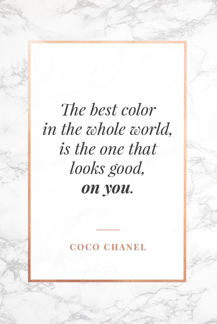 47 of the Best Coco Chanel Quotes About Fashion, Life & Luxury!