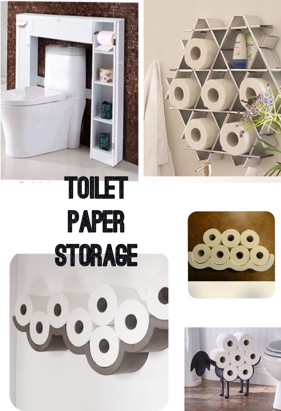 Toilet Paper Storage Ideas To Organise Your Bathroom Toilet Roll Cloud Holder And Sheep Toilet Roll H Toilet Paper Storage Bathroom Wall Storage Toilet Paper