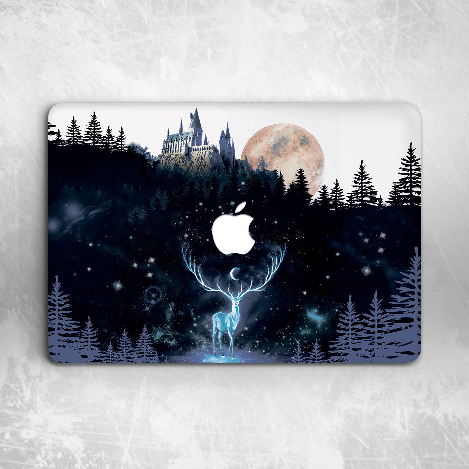 Harry Potter Hogwarts Pattern Hard Cover Case For Macbook Pro 12 13 15 Air 11 13