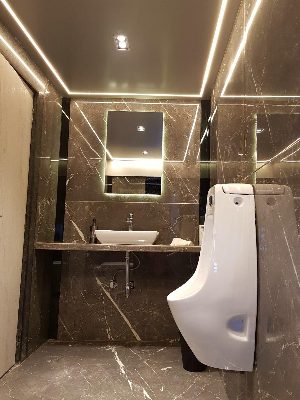 Washroom Italianlook Profilelight Mirror Modern Ideas