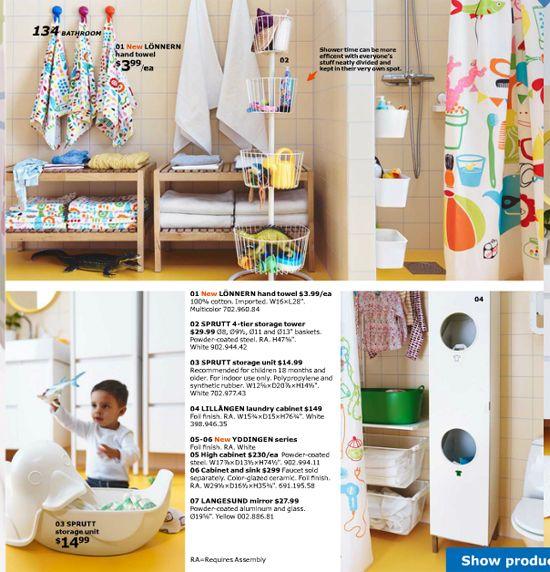 The 2016 IKEA Catalog: Items iHeart!  I love the 4-tier storage tower!  Bath toy storage!!