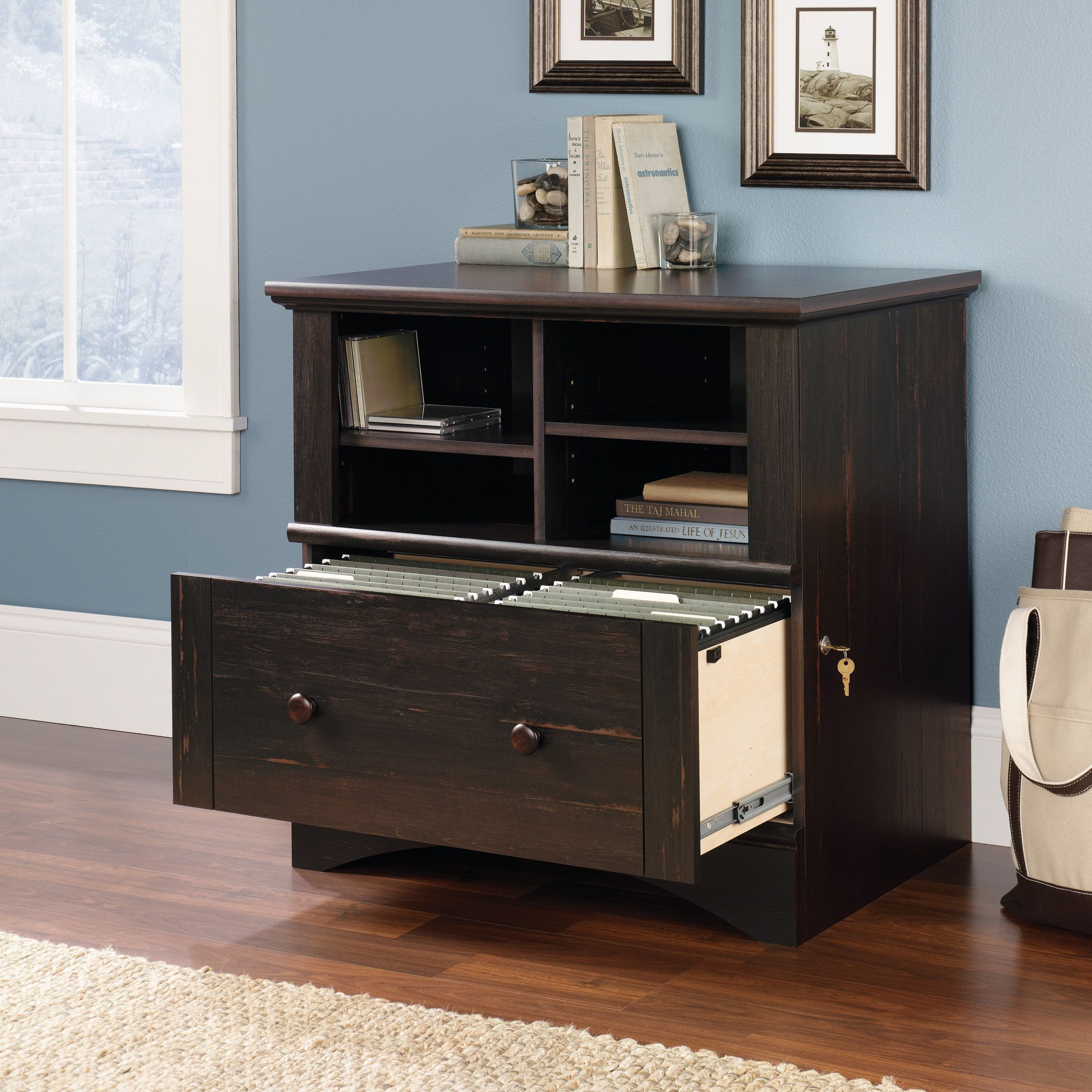 Pinellas 1 Drawer Lateral Filing Cabinet In 2020 Filing Cabinet Cabinet Organizing Your Home