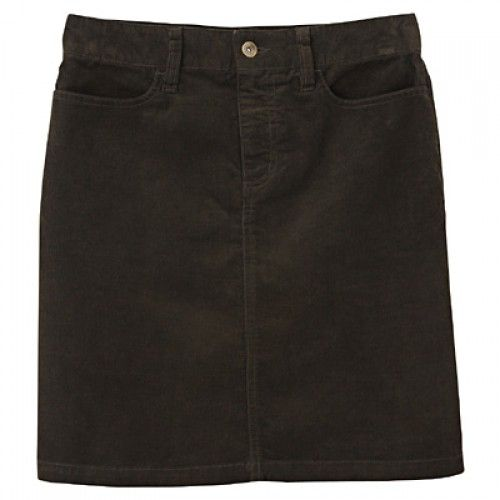 Organic Stretch Corduroy Skirt