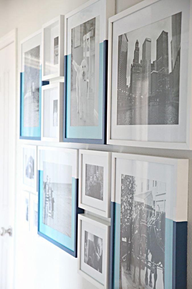 milowcostblog: inspiración: cuadros (re)pintados   Home & Deco ...