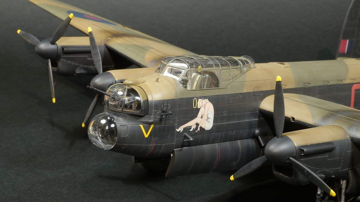 Lancaster: Rivet detail