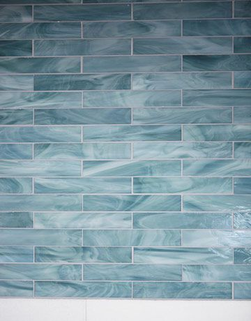 Tile Bathroom Blue a laguna beach bathroom | ocean, beach and beach bathrooms