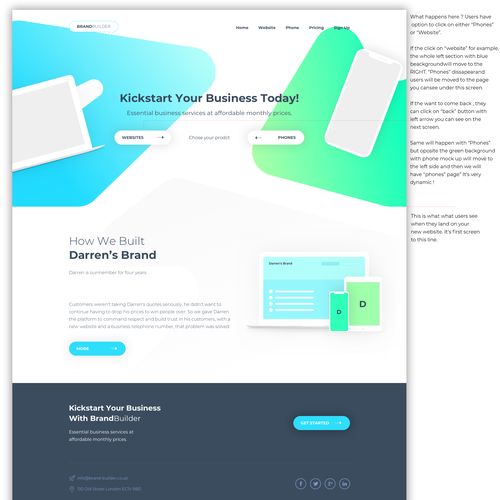 Business Consultancy Needs Visually Stunning Website Template Digital Marketing Solutions Website Template Contest Design