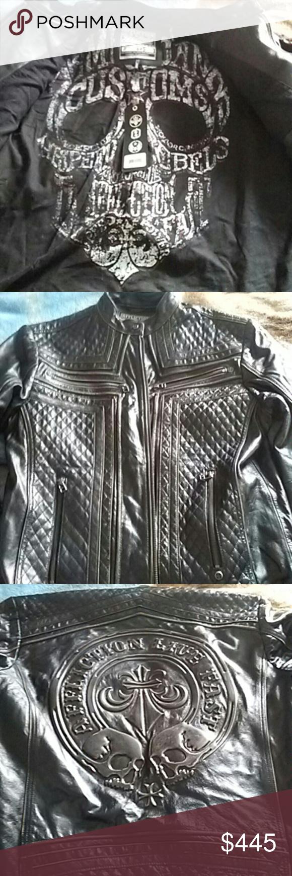 Affliction Leather Jacket Affliction, Leather jacket