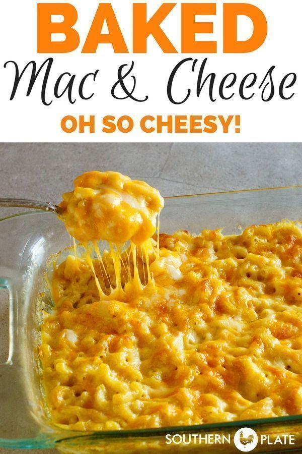 My Favorite Macaroni and Cheese Casserole - Southern Plate