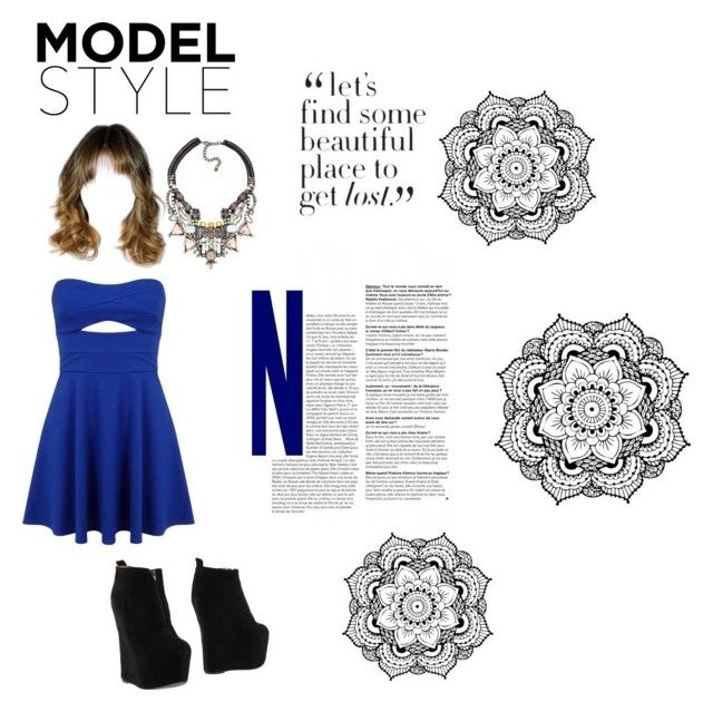 """Model Styles"" by camilacm ❤ liked on Polyvore featuring Nocturne, Miss Selfridge and Jeffrey Campbell"